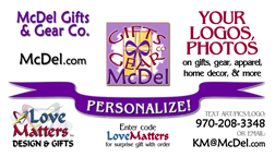 Shop Love Matters™ Apparel or get YOUR logo custom printed on 100's of items!